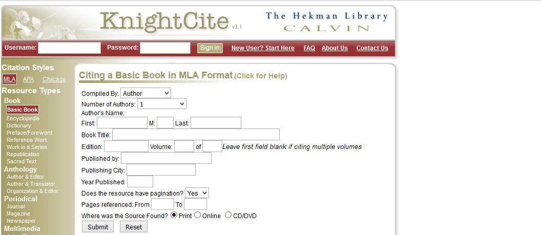 Bibme org mla format