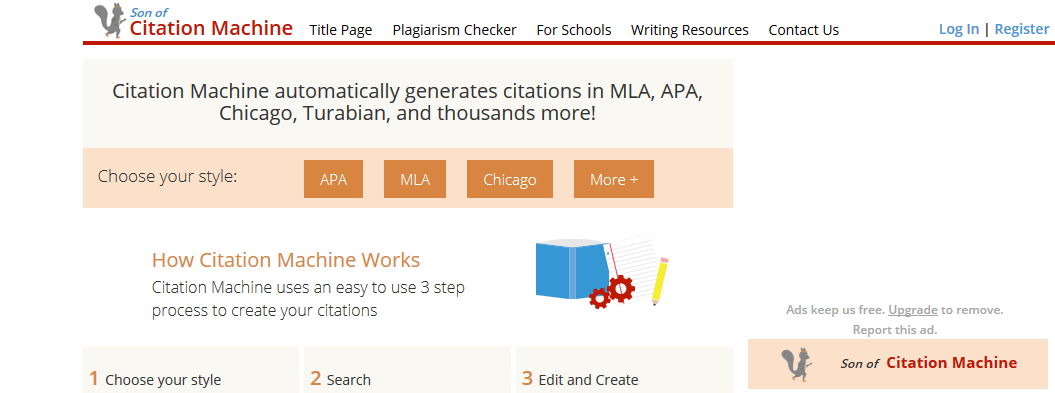 google citation machine apa