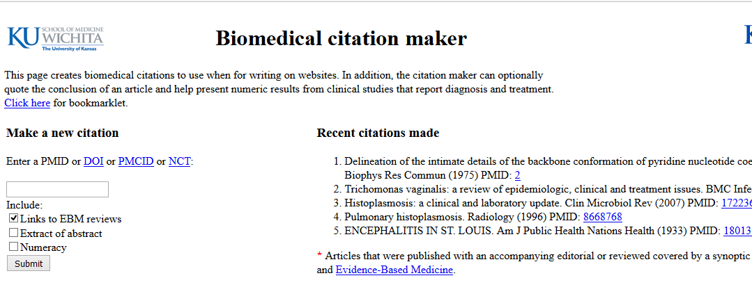apa sixth edition citation generator