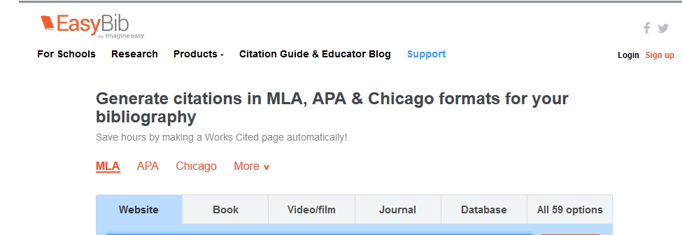 citation help mla