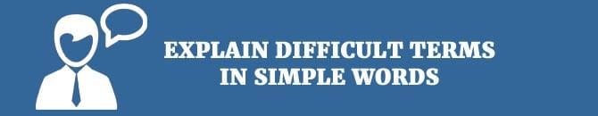 explain the difficult word