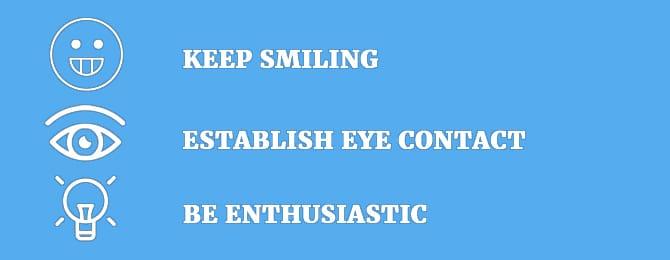 keep smiling speaking2