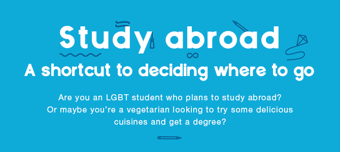 A Shortcut to Deciding Where to Study Abroad [Infographic]