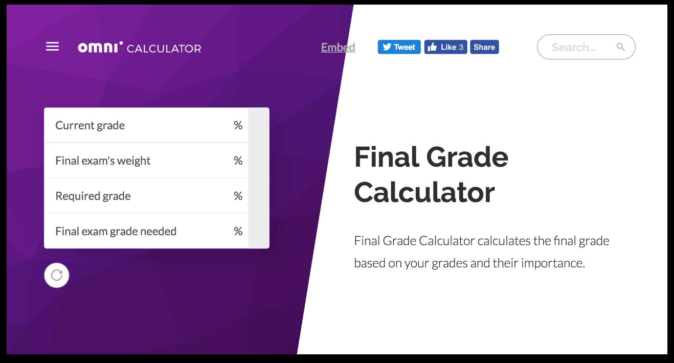 9 Top Final Grade Calculators For School And College 2018